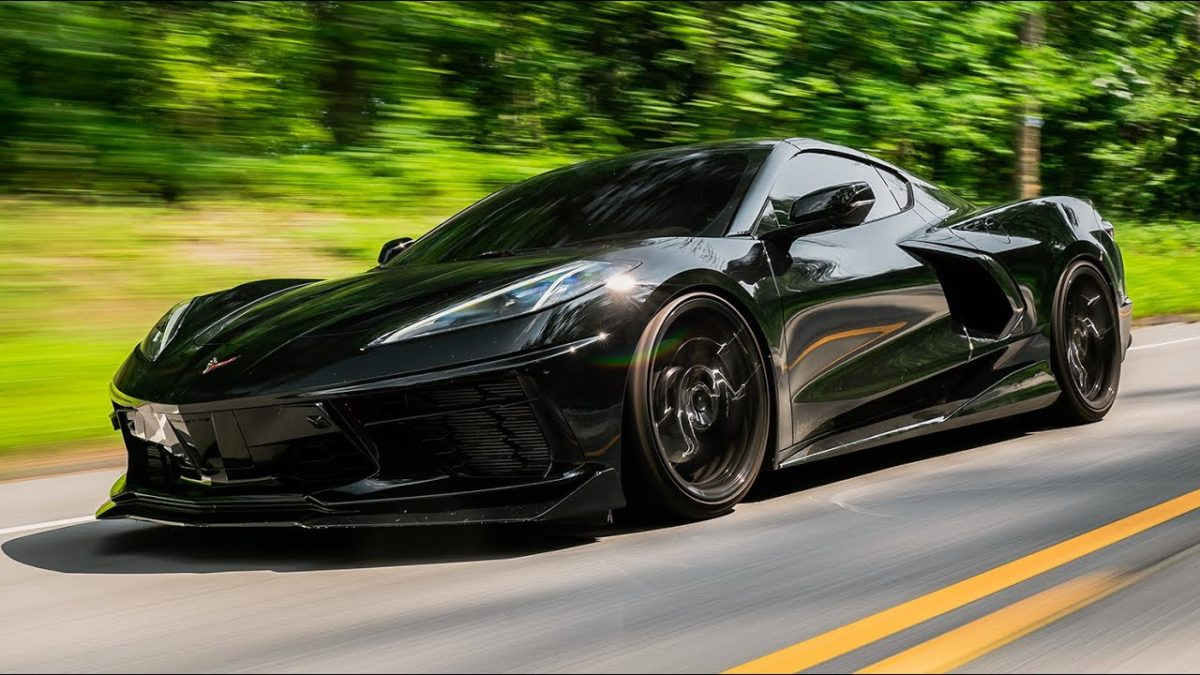 LGND Supply CO Giving Away a Murdered Out C8 Corvette
